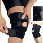 1PC rodilla rodillera soporte manga ajustable abierta rótula estabilizador Protector de envoltura de