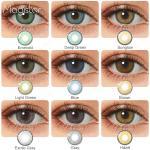 2 unids/par-lentillas de colores para ojos, lentillas de contacto para ojos de colores azul, marrón,