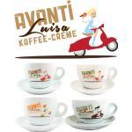 Avanti   4 Tazas para Café con Leche
