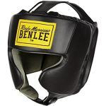 Cascos negros de boxeo BenLee para mujer