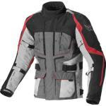 Berik Safari Chaqueta textil impermeable para motocicletas Negro Rojo 48