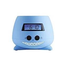 Bigben Interactive Teddy Reloj Despertador con proyector de Techo, Azul, 13.5 x 11 x 13.5 cm