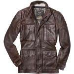 Ropa marrón de piel de vaca de motociclismo Clásico talla XL para mujer