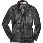 Ropa negra de piel de vaca de motociclismo Clásico talla XL para mujer