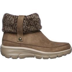 Calzado de invierno beige Skechers para mujer