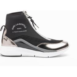 Zapatos negros de charol Karl Lagerfeld para mujer