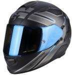 casco moto Integral Exo 510 Air Route Matt Black Blue