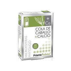 Cola De Caballo + Calcio Microesferas 30 cápsulas - Prisma Natural