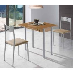 Conjunto de cocina mesa extensible roble pisa sillas niza