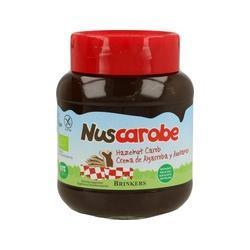 Crema de Algarroba y Avellana Bio 350 g - Nuscarobe