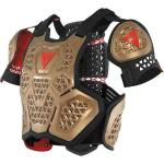 Dainese MX1 Roost Guard Chaleco protector Marrón 2XS XS S M