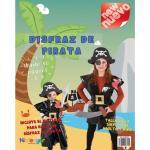 Disfraz Bolsa Plástico NIEFENVER Pirata