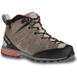 Dolomite diagonal pro shoes mid gtx w shoe mud grey / red coral (para mujer)
