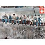 Educa Borrás - Puzzle 1500 Piezas Almuerzo En Nueva York