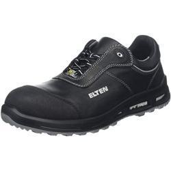 Zapatos negros de trabajo formales Elten norma S3 para mujer