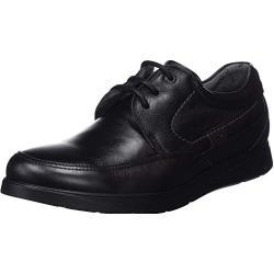 Zapatos negros de trabajo formales Fluchos para hombre