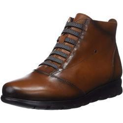 Zapatos marrones de invierno formales Fluchos para mujer