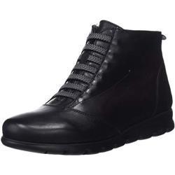 Fluchos Susan, Zapatos de Cordones Derby para Mujer, Negro (Sugar Negro Negro), 38 EU