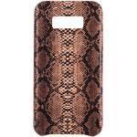 Funda Animal Print Serpiente marrón Samsung Galaxy S8 Plus