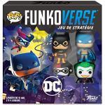 Funko- Pop Funkoverse: Gotham City Rumble juego de mesa, 43462, multicolor