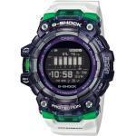 G-SHOCK Gbd-100sm-1a7er White Black - Reloj outdoor - Blanco/Verde - EU Unica