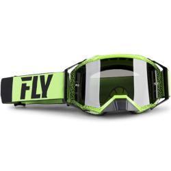 Gafas de Cross FLY Zone Pro Negro-Verde
