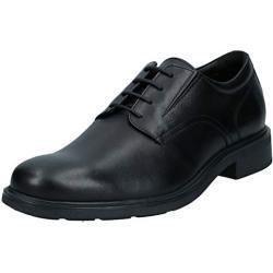 Zapatos negros de vestir informales Geox Dublin para hombre