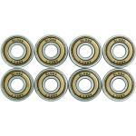Globe ABEC 7 Bearings Rodamiento, Unisex, Multicolor (Dorado), Talla Única