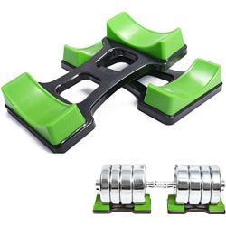 Grofitness Par de pesas para levantamiento de pesas (25 x 11 cm)