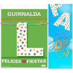 Guirnalda felices fiestas (cartulina 220gr)