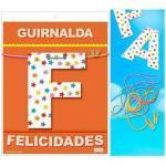 Guirnalda felicidades (cartulina 220gr)