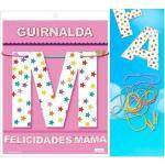 Guirnalda felicidades mama (cartulina 220gr)