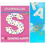 Guirnalda si quiero amor (cartulina 220gr)