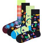 Happy Socks Calcetines negro / petróleo / naranja oscuro / amarillo / lila