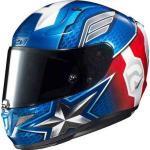 HJC RPHA 11 Captain America Marvel Casco Blanco Rojo Azul 2XL