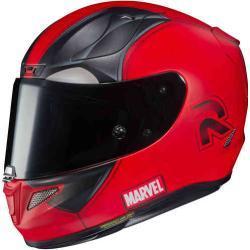 HJC RPHA-11 Deadpool 2 Marvel Casco Rojo S