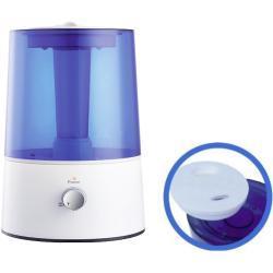 Humidificador por Ultrasonidos: Capacidad 2,2 litros, salida de vapor regulable y depósito para esencias