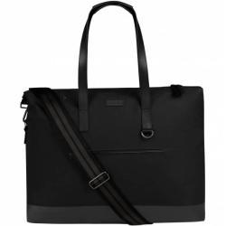 """Hunter Canvas Moustache Weekend Mujer Bolso UBS7009CPN-BLK"""""""