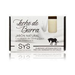 Jabón Natural Premium Leche de Burra 100 g - Laboratorio SYS