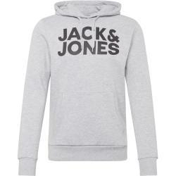 Moda gris manga larga Jack Jones de materiales sostenibles para hombre