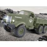 JJR / C Q60 1/16 2,4G 6WD RC todoterreno sobre orugas camion militar coche del ejercito regalo para ninos juguete para ninos RTR