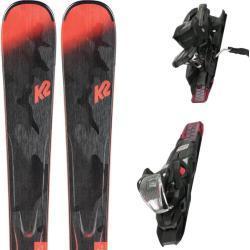 K2 Anthem 78+er3 10 Compact Quikclik - Pack esquí alpino - Gris/Rosa - EU 160