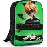 Karactermania Ladybug Cat Noir Transform, Mochila infantil reversible, 40 cm, Multicolor