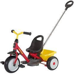 Kettler 8826-100 Startrike - Triciclo, color amarillo y rojo [importado de Alemania]