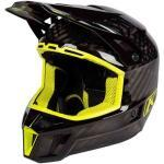 Klim F3 Carbon Casco de Motocross Negro Amarillo 2XL