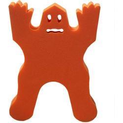 Mini tapiz FANTASMA Naranja Pequeña