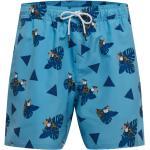 OAKLEY Bañador deportivo 'TOUCAN TROPICS' azul / azul cielo / naranja