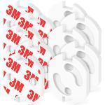 OcioDual 10x Protector enchufe seguridad niños bebes schuko europeo EU con adhesivo Blanco 10 x