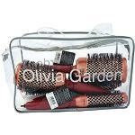 Olivia Garden Heat Pro™ Cepillos Térmicos de Cabello Redondo Bolsa 4 piezas (22, 32, 42, 52mm)