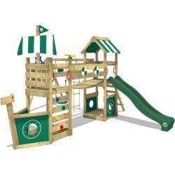 Parque infantil WICKEY StormFlyer con el oscilación, puente del wiggle